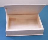 Krabička  dřevěná surová 20x14x4cm