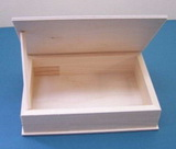 Krabi�ka  d�ev�n� surov� 22x16x4cm
