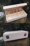 Dřevěná krabička na čaj 10 přihrádek