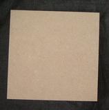 MDF destička rovná 16,5x16,5cm - tl.0,6cm