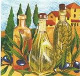 OL 018 - ubrousek 33x33 - olivy+olej