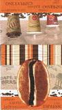 KC 040 - ubrousek 33x33 - oranžové zrno kávy