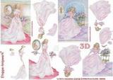 3D papír č.13 - princezna