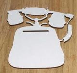 SBHD0107 - Poznámkovník TELEFON 25x26cm