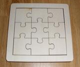 Puzzle na decoupage - skládačka 1/4M ubr.