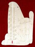 Teploměr SEDÍCÍ KOČKA - 22x15cm