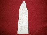 2D výřez DOMEČEK NATÁLKA - 13x4,3cm