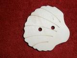 TP3D0251 - Sponka nebo knoflík MUŠLE - 5,5x5,2cm