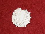 TP3D0275 - 2D výřez plod kaštanu - 4,5x4,5cm