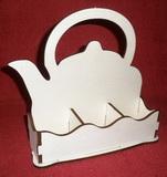 *Stojánek na čaj 3 komory - motiv KONVIČKA