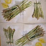OZ 081 Ihr - ubrousek 33x33 - chřest+citron