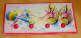 Věšák 4 úchyty - růžové botky
