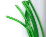 Plyšový drátek 0,8cm/30cm trávníková zelená