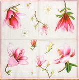 KV 288 Ihr - ubrousek33x33 -  růžový květ