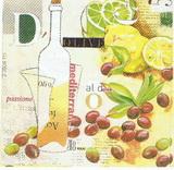 OL 039 PPD - ubrousek 33x33 - olive nápoj