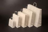 Papírová taška KD 23x10x32 BÍLÁ