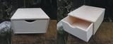 Dřevěná krabička  č.1 na čajové sáčky- v.8x16x16xcm