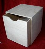 Dřevěná krabička  č.2- v.16x16x16xcm