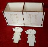Krabička - stojánek na tužky 2v1-KLUK+KLUK