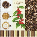 KC 076 R2S - ubrousek33x33 - coffee lístek