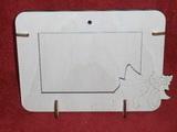R2V001 - 2v1 rámeček na šířku fota 10x15cm - LASTURA-MUŠLE