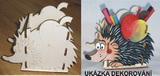 TP3D0122 - Krabička na tužky JEŽEK 16x14x9cm