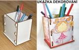 Krabička na tužky ČISTÁ  11,5x12x9cm