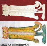 TEP006 - Teploměr KOCOUR - 30x12,5cm