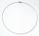 Šroubovací náhrdelník - lanko pr.15cm