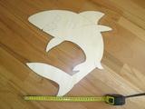 MAXI DEKORACE Žralok - v.38x38cm