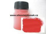 0815 - Akrylová barva MAT 70g červená