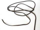 Řemínek kožený TMAVĚ HNĚDÝ 3mm délka cca 100cm