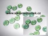 Nugety sklo 17-20mm zelené č.103- cca 45ks
