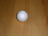 Polystyrénová koule bílá pr. 4cm