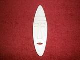 TP2D063 - 2D výřez etno motiv Maska úzká v.10,5x3cm