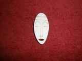 TP2D069 - 2D výřez etno motiv Maska silná malá v.4,3x2cm