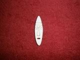 TP2D070 - 2D výřez etno motiv Maska úzká malá v.4,7x1,3cm