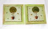 Obrázek stromek v květníku - cena za 2ks