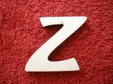 *2D výřez písmeno Z v.cca 4,2cm ozd.