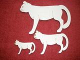 TRS13 - Trojsestava Kočka stojící