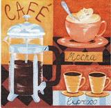 KC 081- ubrousek33x33 - café mocha...