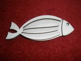 Razítko překližka ryba - v.3,7x9,5cm