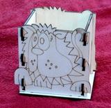Krabička - stojánek na tužky LEV - 10,5x v.12x9cm