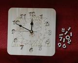 3D hodiny LVÍČEK 19,5x19,5cm