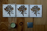 DSB06 - Růže - Dekorace k vonné svičce