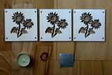 DSB07 - Slunečnice - Dekorace k vonné svičce