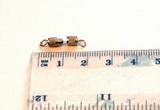 Šroubovací záponka platina 15mm-cena za oba díly