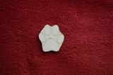 2D výřez tlapka - v.4,5x4cm