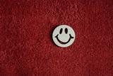 2D výřez smajlík usměváček - pr.4cm