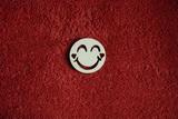 2D výřez smajlík usměváček 2srd. - pr.4cm